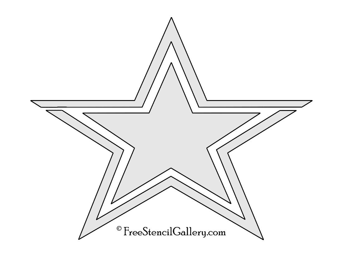 NFL Dallas Cowboys Stencil