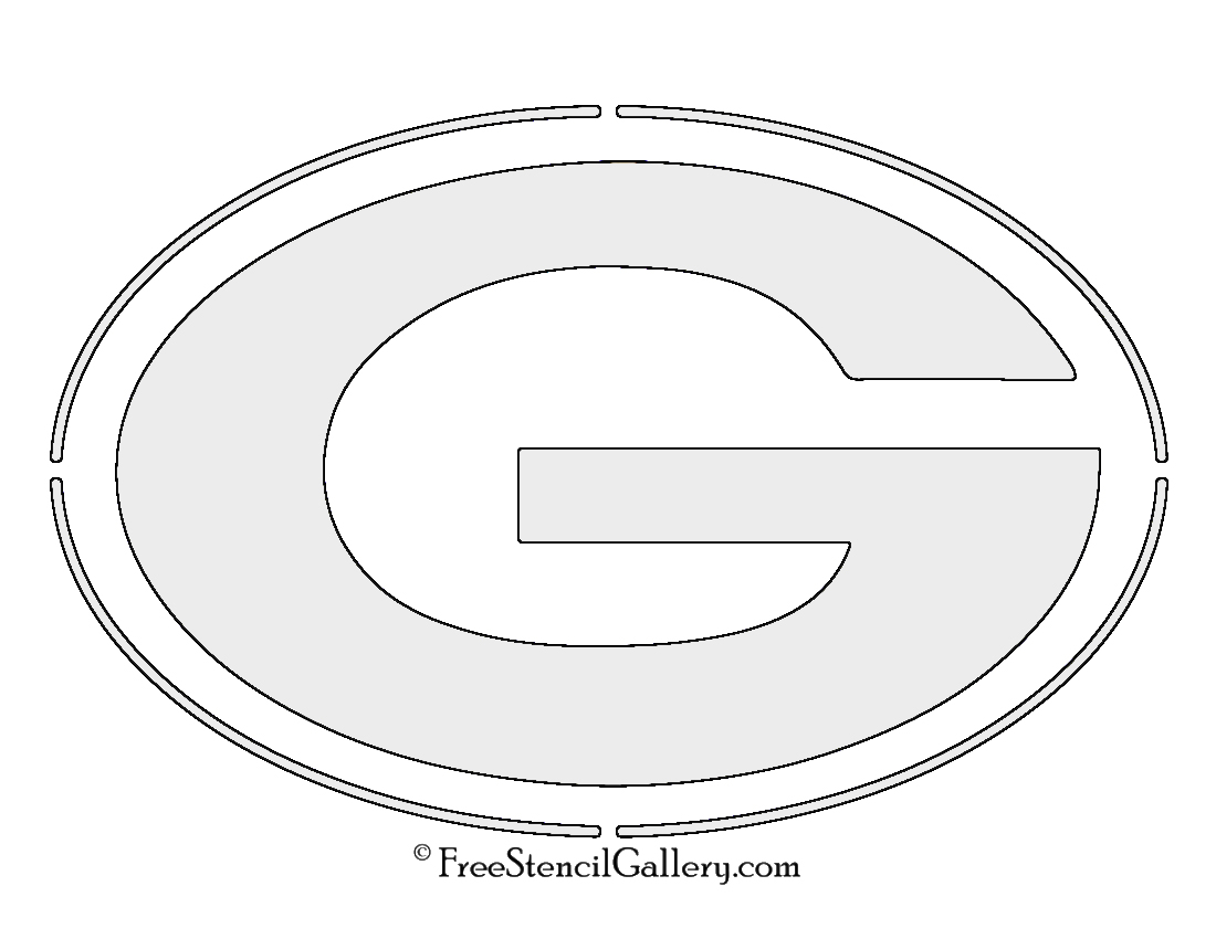 nfl green bay packers stencil free stencil gallery