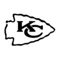 NFL Kansas City Chiefs Stencil