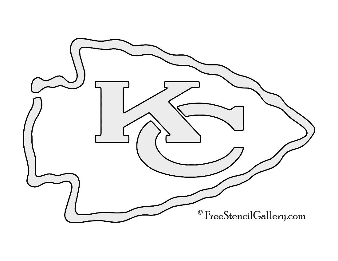 kc chiefs coloring pages - photo#22