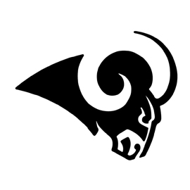 NFL Los Angeles Rams Stencil