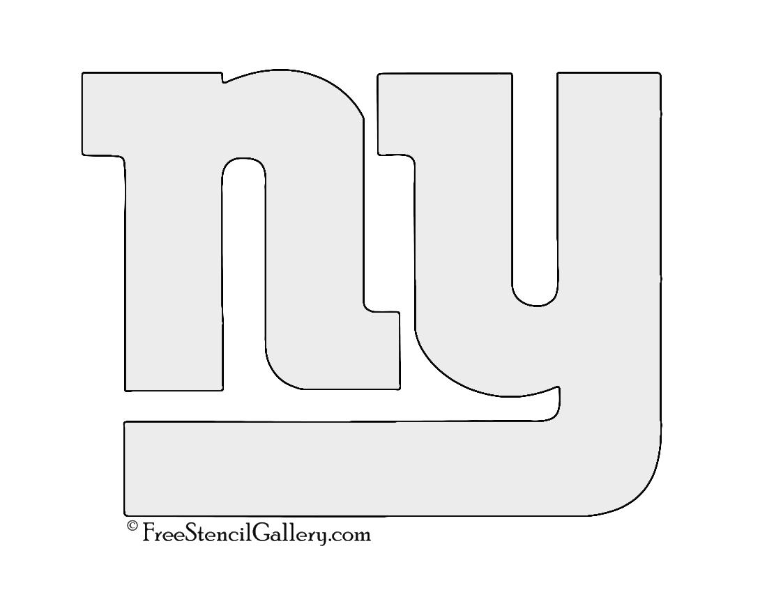 Nfl New York Giants Stencil Free Stencil Gallery