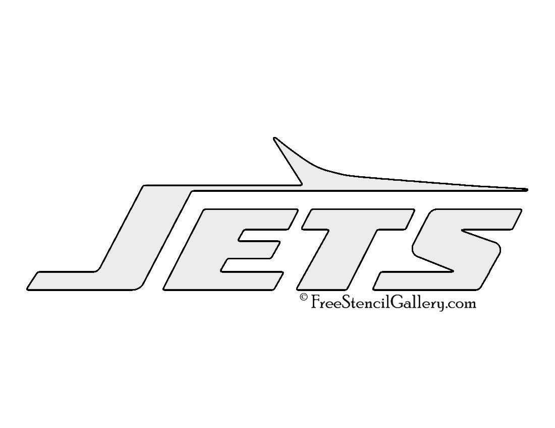 NFL New York Jets Stencil