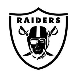 NFL Oakland Raiders Stencil