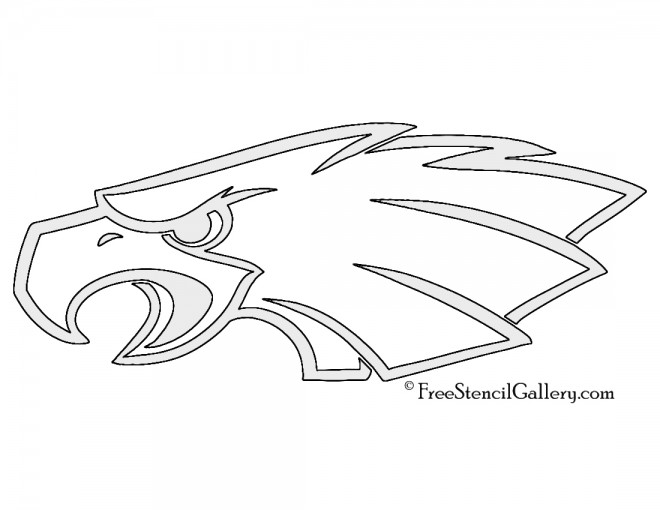 NFL Philadelphia Eagles Stencil