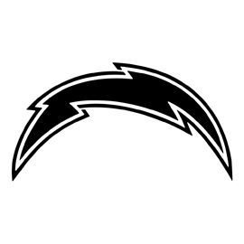 NFL San Diego Chargers Stencil