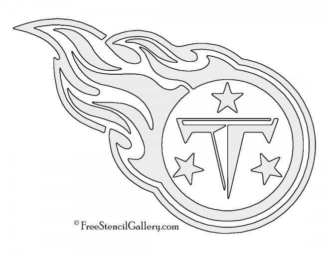 Nfl tennessee titans stencil free gallery
