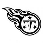 NFL Tennessee Titans Stencil