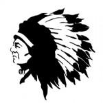 Native American Chief Stencil