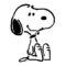 Peanuts - Snoopy Stencil