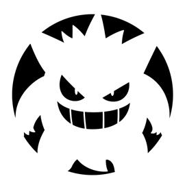 Pokemon – Gengar Stencil