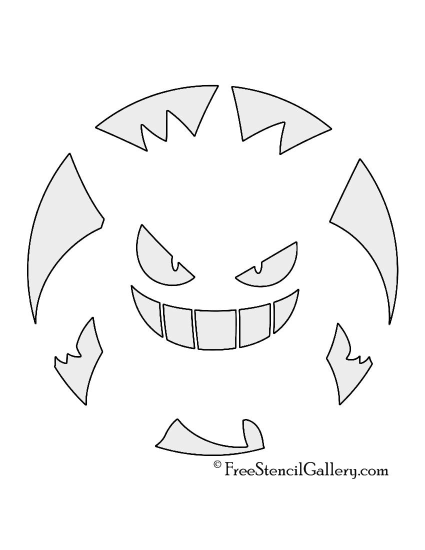 Pokemon pumpkin carvings templates for Pokemon jack o lantern template