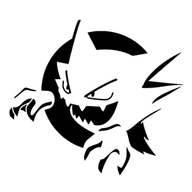 Pokemon – Haunter Stencil