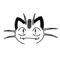 Pokemon - Meowth Stencil