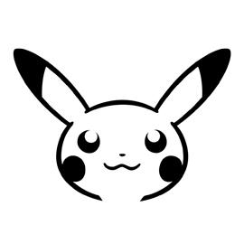 Pokemon – Pikachu Stencil 02