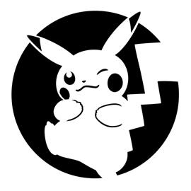 Pokemon – Pikachu Stencil 03