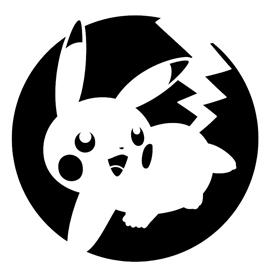 Pokemon – Pikachu Stencil 04