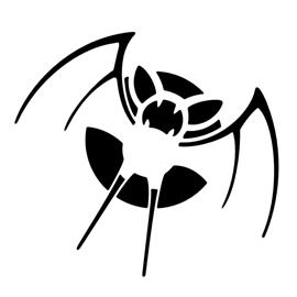 Pokemon – Zubat Stencil