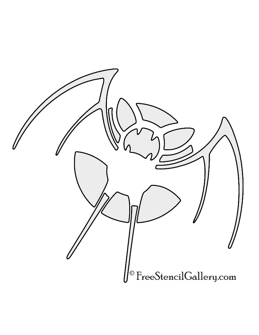 Pokemon - Zubat Stencil