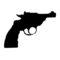 Revolver 02 Stencil