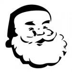 Santa Claus Stencil
