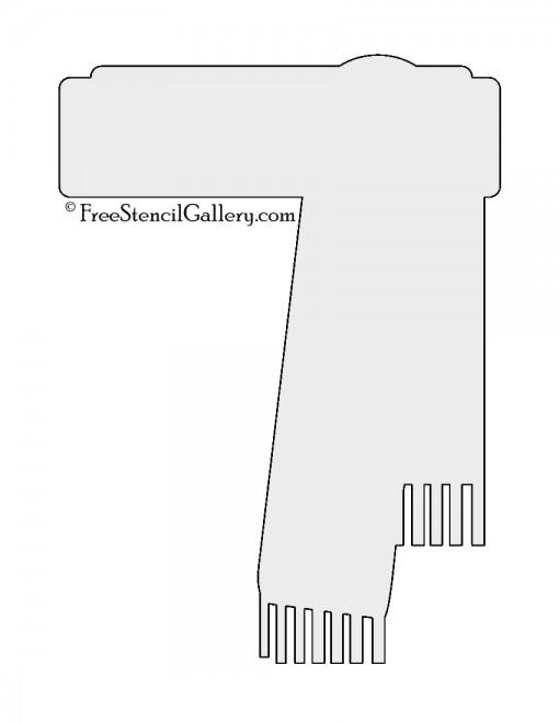 Scarf Stencil