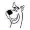 Scooby Doo Stencil