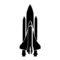 Space Shuttle Stencil