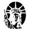 Statue of Liberty Stencil