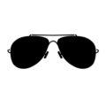 Sunglasses Stencil