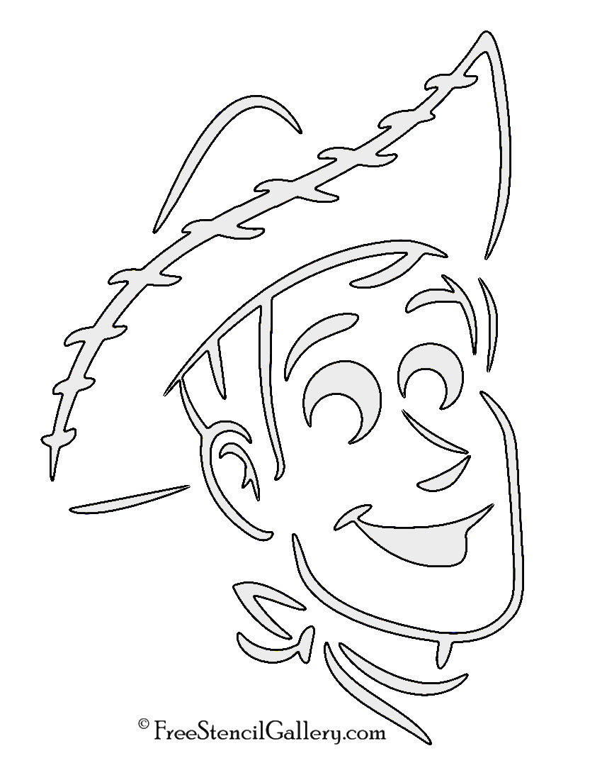 buzz lightyear pumpkin template - toy story woody stencil free stencil gallery
