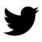 Twitter Logo Stencil