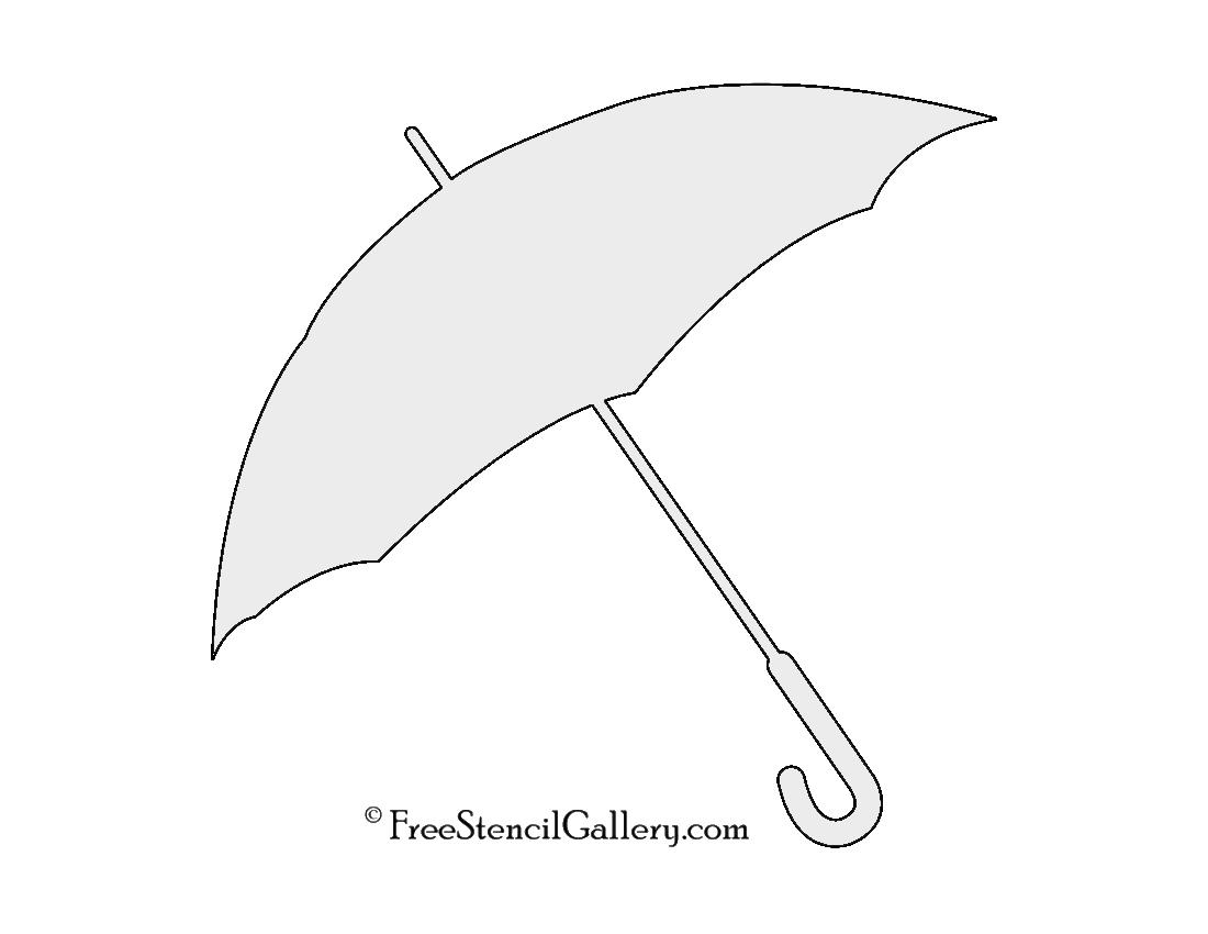 umbrella stencil free stencil gallery. Black Bedroom Furniture Sets. Home Design Ideas