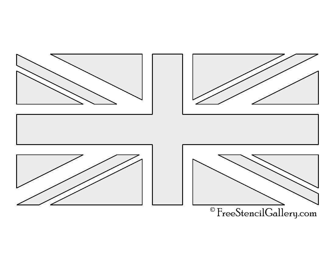 Union Jack Stencil