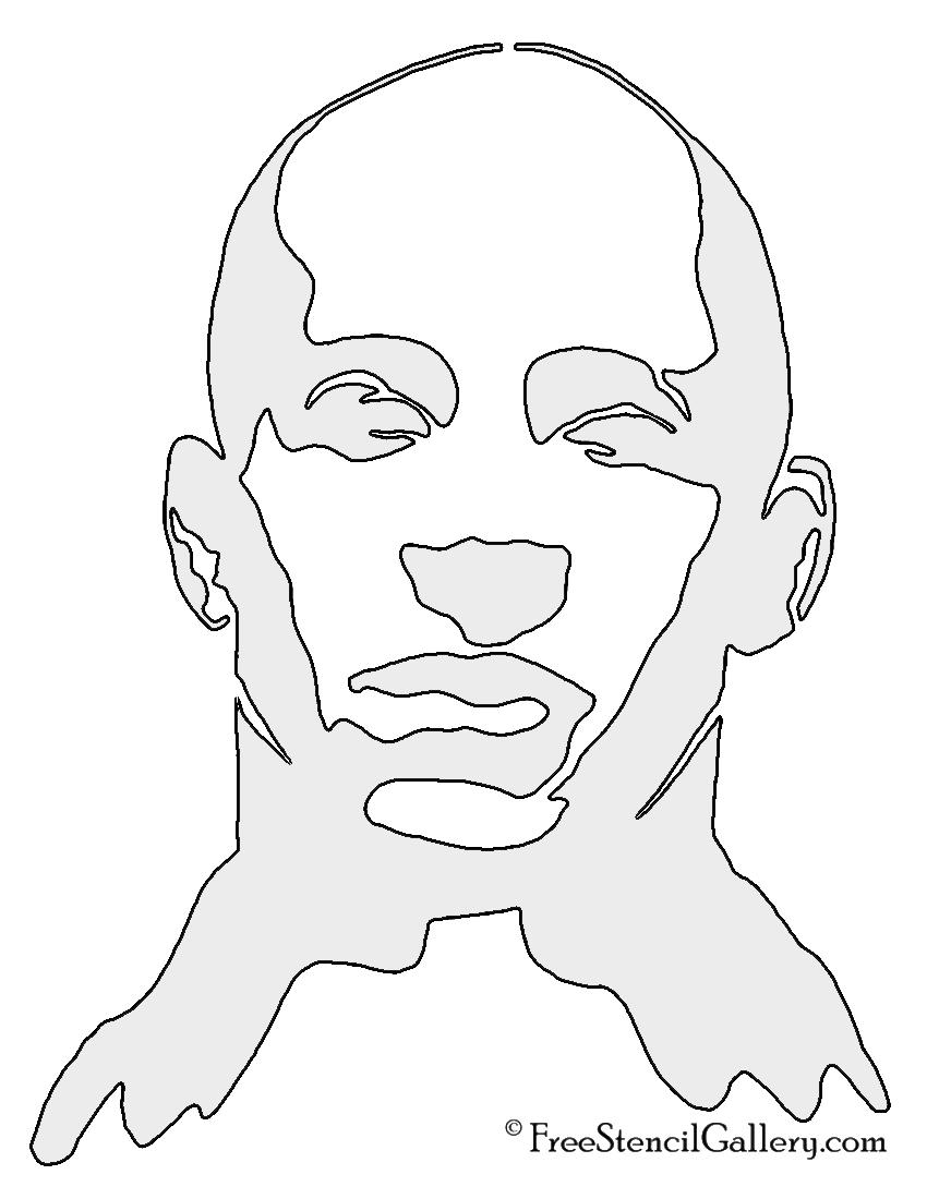 Vin Diesel Stencil