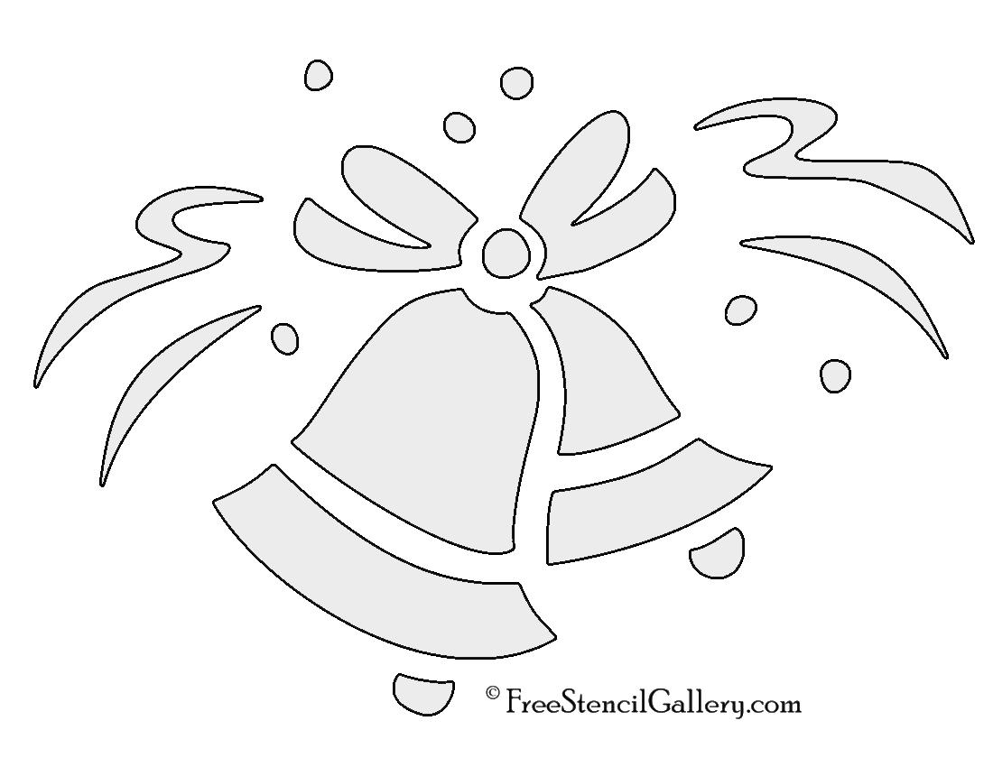 Wedding Bells Stencil