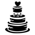 Wedding Cake Stencil