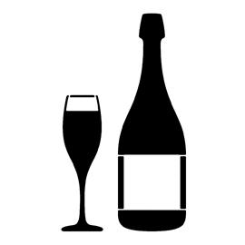Wine Stencil