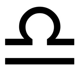 Zodiac – Libra Stencil