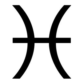 Zodiac – Pisces Stencil