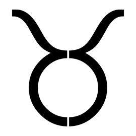 Zodiac – Taurus Stencil