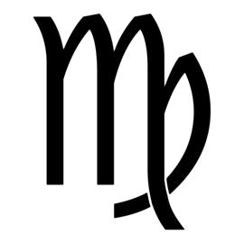 Zodiac – Virgo Stencil