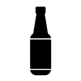 Beer Bottle Stencil