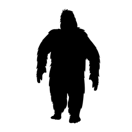 Bigfoot Stencil