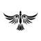 Bird Tribal Stencil