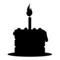 Birthday Cake Stencil