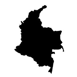 Colombia Stencil