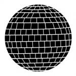 Disco Ball Stencil