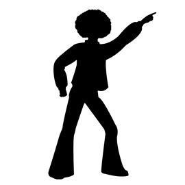 disco dancer silhouette 01 stencil free stencil gallery Western Square Dance Clip Art Bing Cartoon Clip Art Lovers