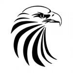 Eagle Head Stencil
